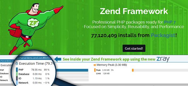 zend php framework