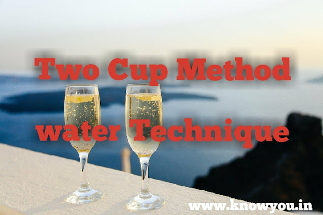 Two Cup Method, Bucket Method, Water Method, Manifest your desire using Law of Attraction, Top best technique of Law of Attraction.