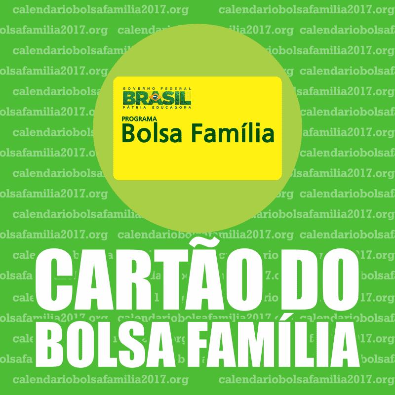 Cartão Bolsa Família 2017