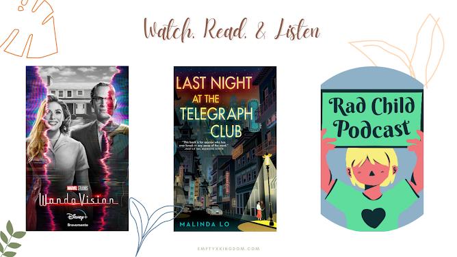 watch read listen movie book recommendations