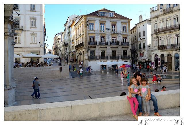 Plaza 8 de mayo, Coimbra