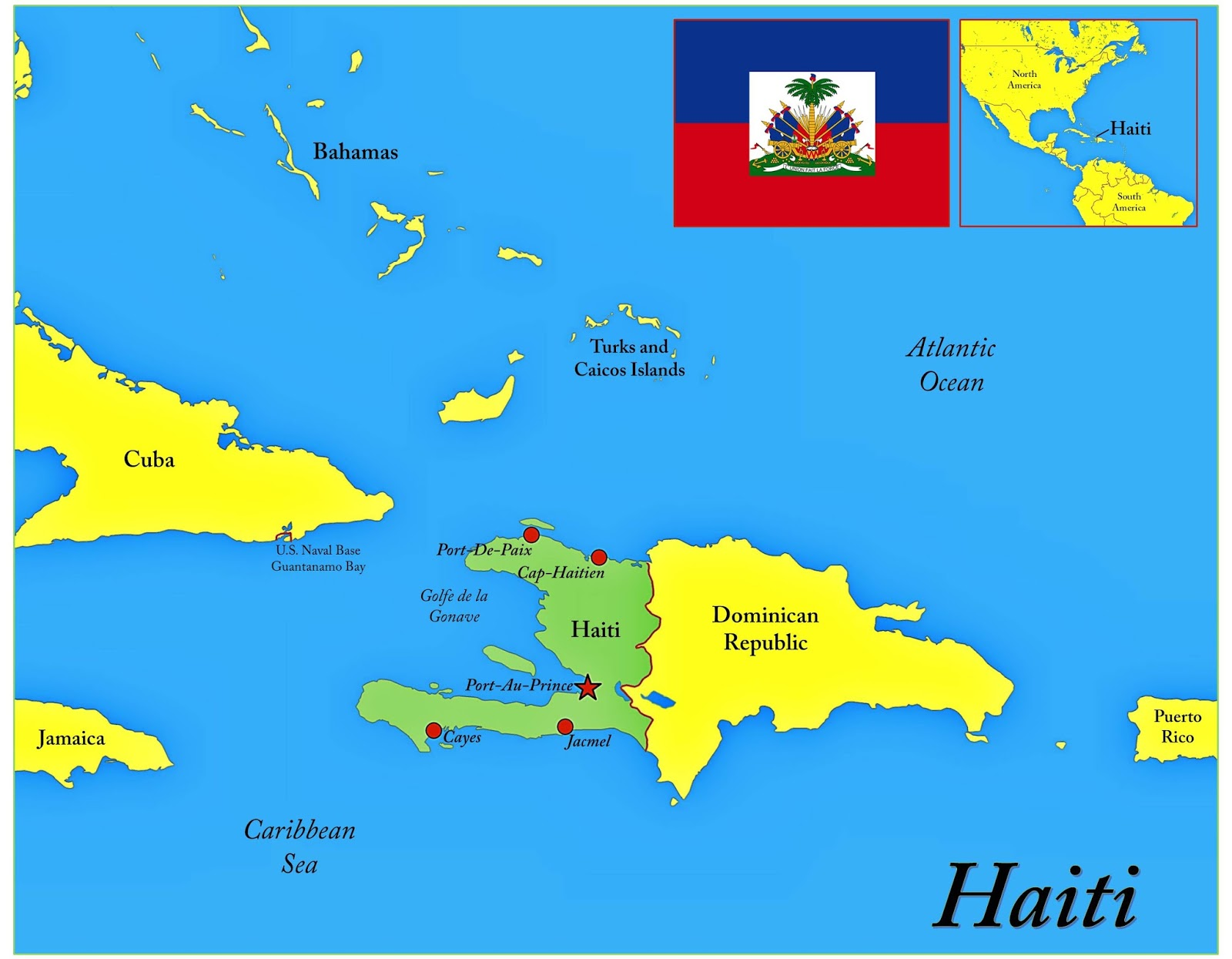 haiti maps available from ball state university libraries