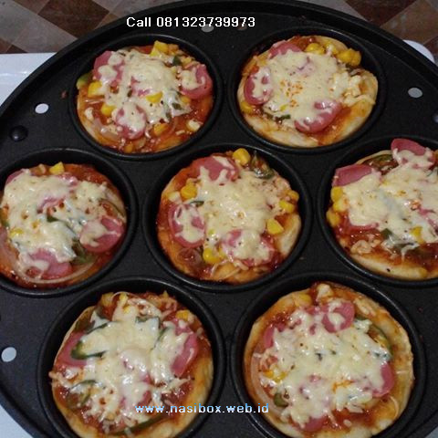Resep pizza mie mini-nasi box walini ciwidey