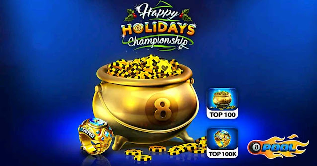 8 ball pool Happy Holidays Championship