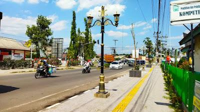 Pedestrian Percantik Kota Tanjung Enim