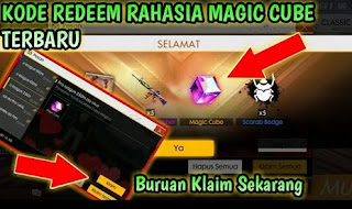 Kode Redeem Magic Cube Terbaru Dan Bundle Caroline