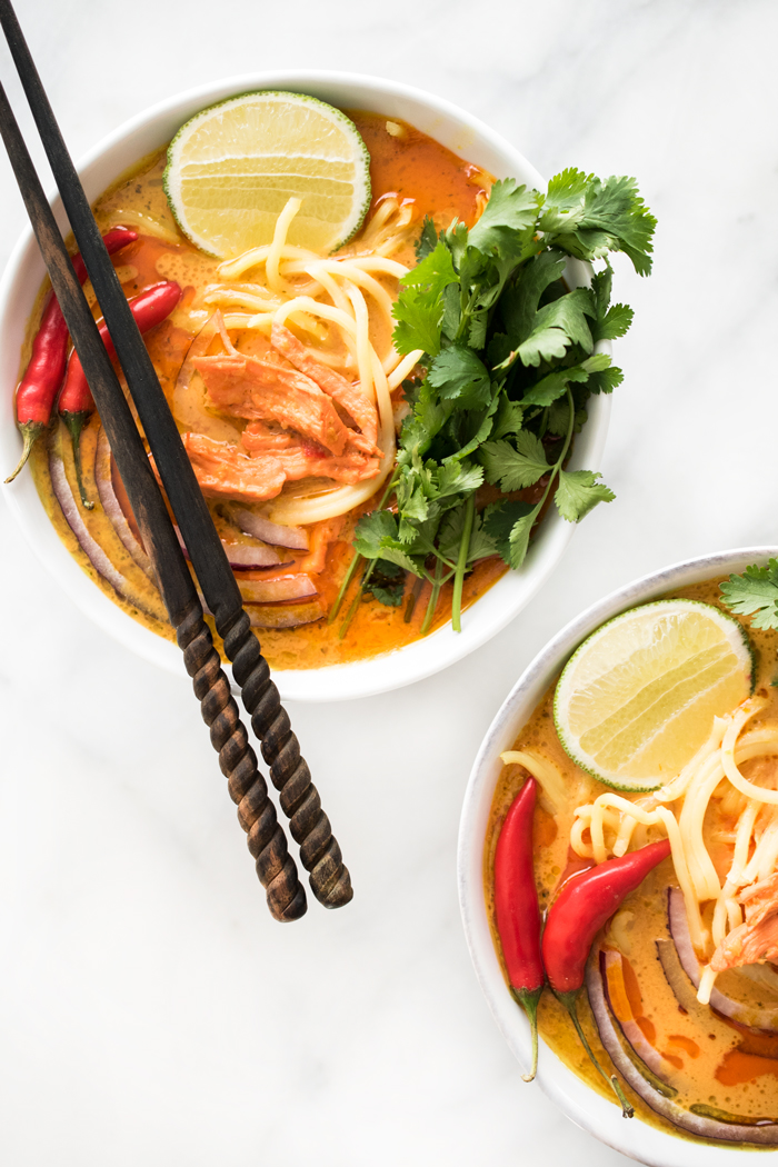 SPICY THAI CURRY NOODLE SOUP RECIPE