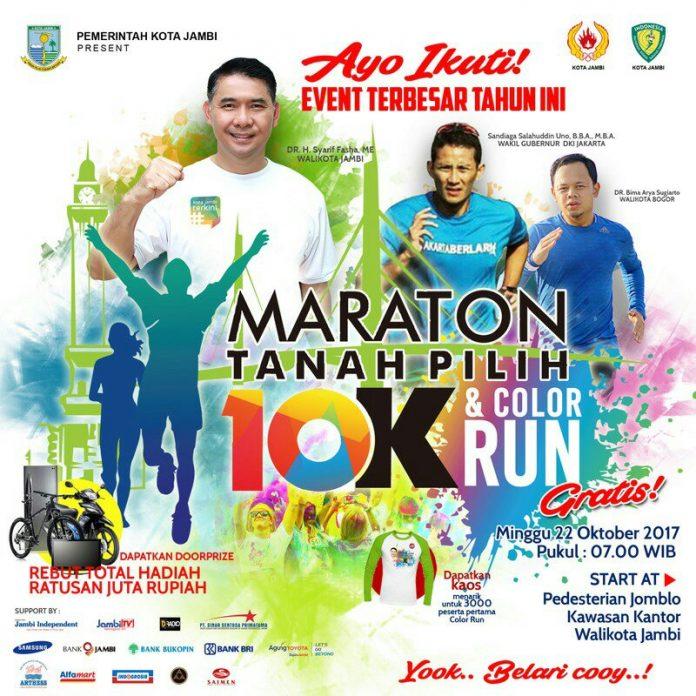 Tanah Pilih Maraton 10K • 2017