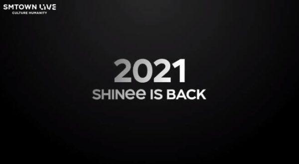 SM Entertainment Announces SHINee's Comeback in 2021
