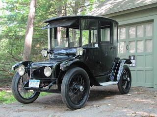 Classic Car electric: Detroit Electric