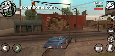 تحميل لعبة جاتا سان اندريس للايفون GTA San Andreas iOS مجانا