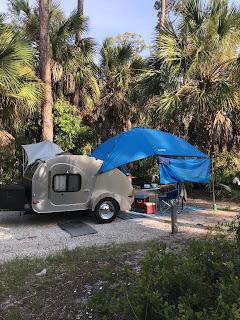 Camp-Inn Teardrop Camper at Cape San Blas