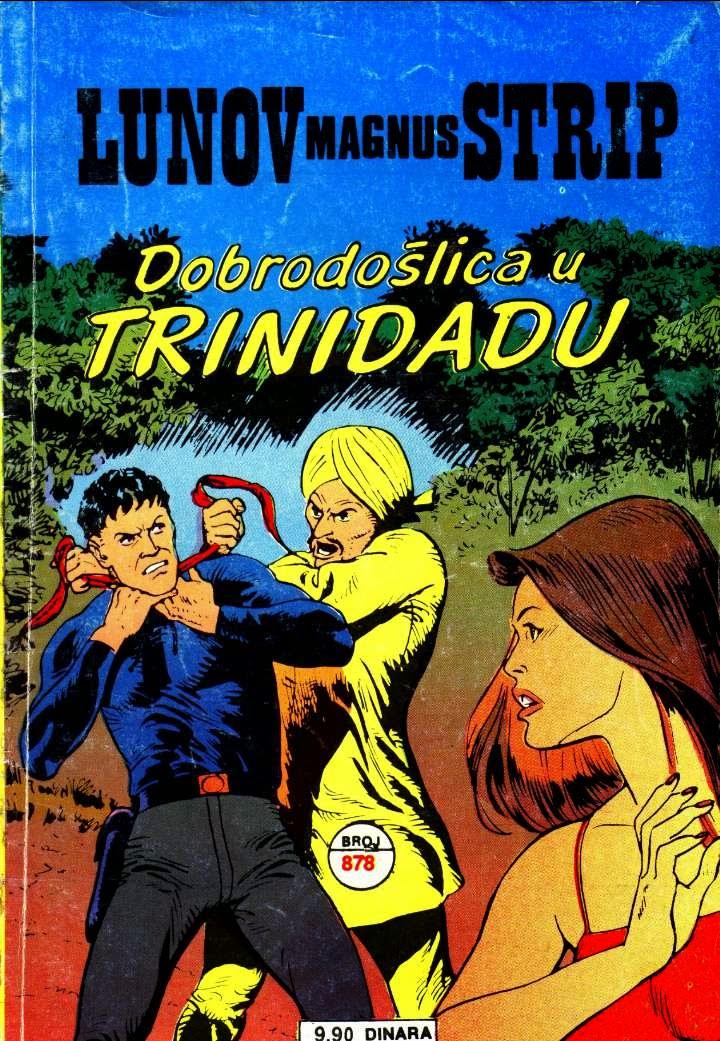 Dobrodoslica u Trinidadu - Mister No