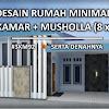 Desain Rumah Minimalis dengan Musholla di Tanah 8x15 Meter