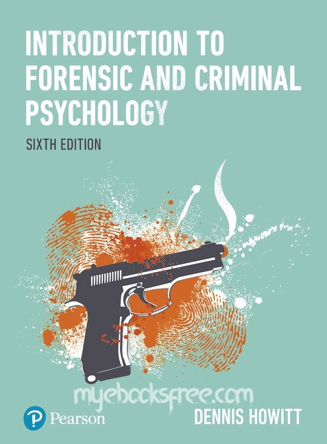 Introduction to Forensic and Criminal Psychology Pdf Download Free eBook