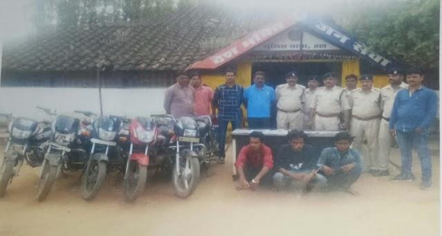 हटा-पटेरा मार्ग पर पेट्रोल पंप लूटने की योजना बनाते पन्ना छतरपुर के 3 बदमाश हथियार सहित गिरफ्तार, 2 फरार