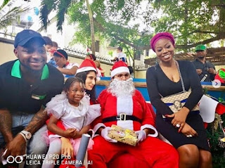 Davido And His Baby-mama, Sophia Attend Their Daughter's School Christmas Concert (Photos)