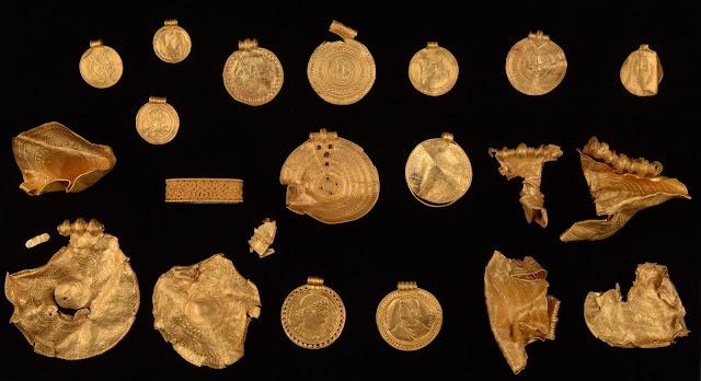 Metal detectorist finds pre-Viking gold treasure in Denmark