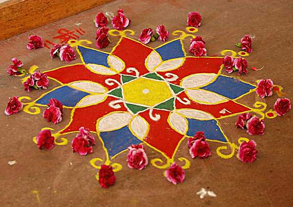 Diwali Best Rangoli To Decorate House  (Happy Diwali 2017)