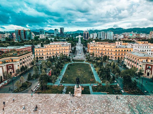 برنامج سياحي في البانيا