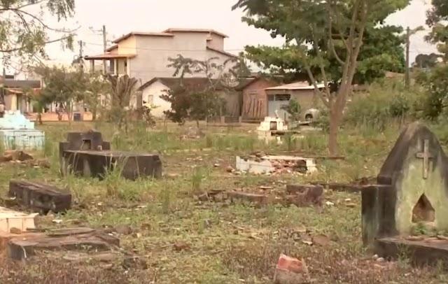 Prefeitura de Itabela, anuncia transferência de ossadas de cemitério desativado há 19 anos para construção de praça