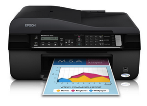 Epson WorkForce 520 Drivers & Software Download