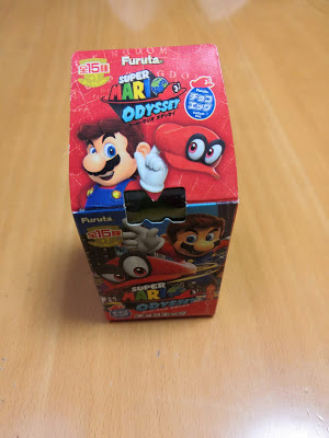 The box of Super Mario chocolate egg