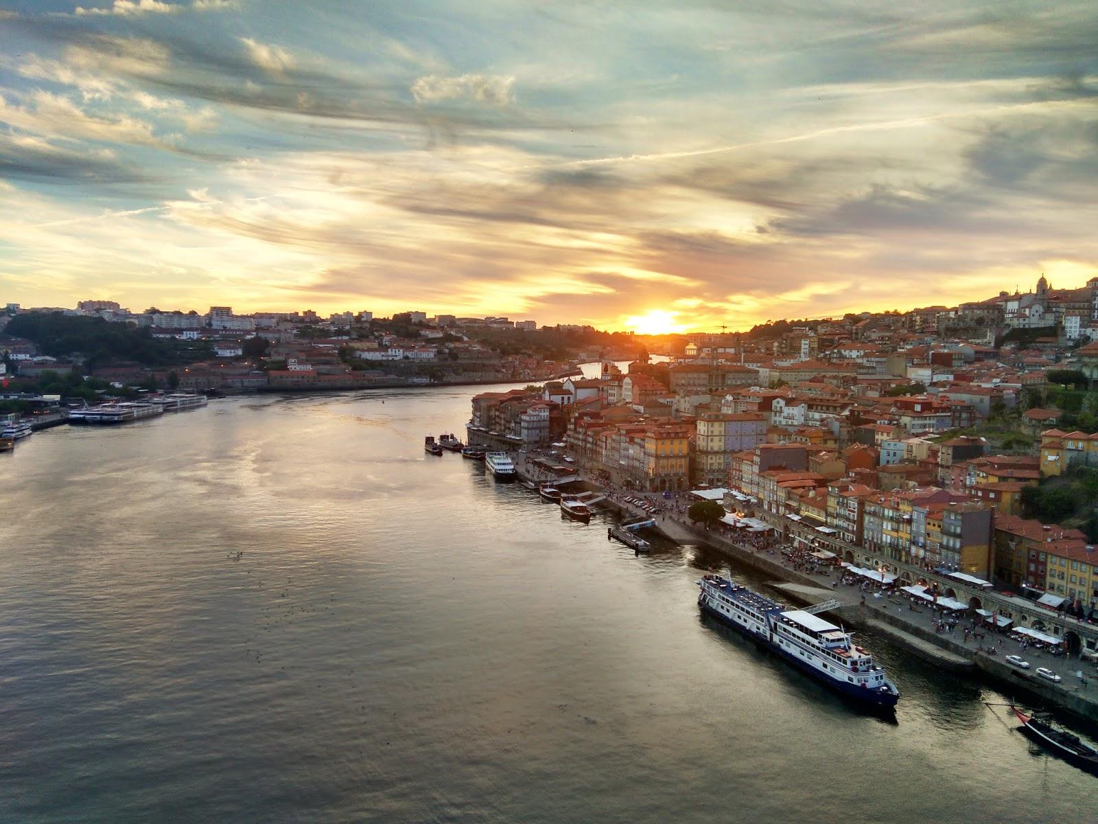 Porto, Portugal Bike Tour Architecture