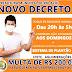Decreto determina fechamento do comércio nos domingos em Rio Azul