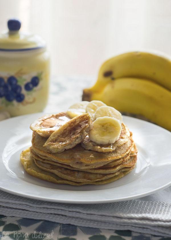 Tortitas de plátano y avena saludables #sinazucar #sinlactosa #singluten #realfood