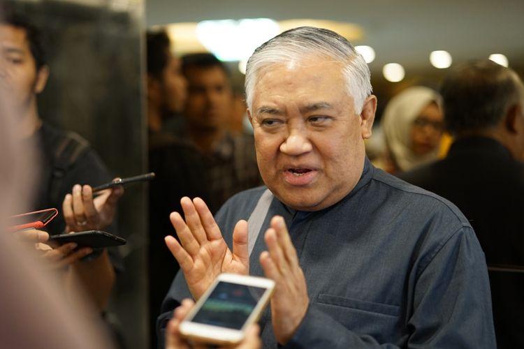 Din Syamsuddin Sebut Ada Kekhawatiran Global Terhadap Umat Islam di Indonesia