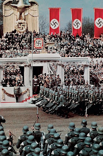 Adolf Hitler reviewing troops 1939 worldwartwo.filminspector.com