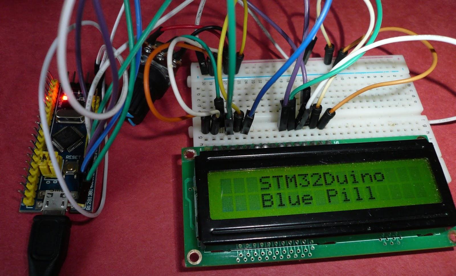 Électronique en amateur: Afficheur LCD 2 X 16 et STM32 Blue Pill
