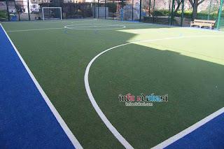 Contoh Gambar Lapangan Futsal Outdoor (Luar Ruangan)