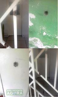 Casa é alvejada a tiros em São Vicente do Seridó e população fica assustada