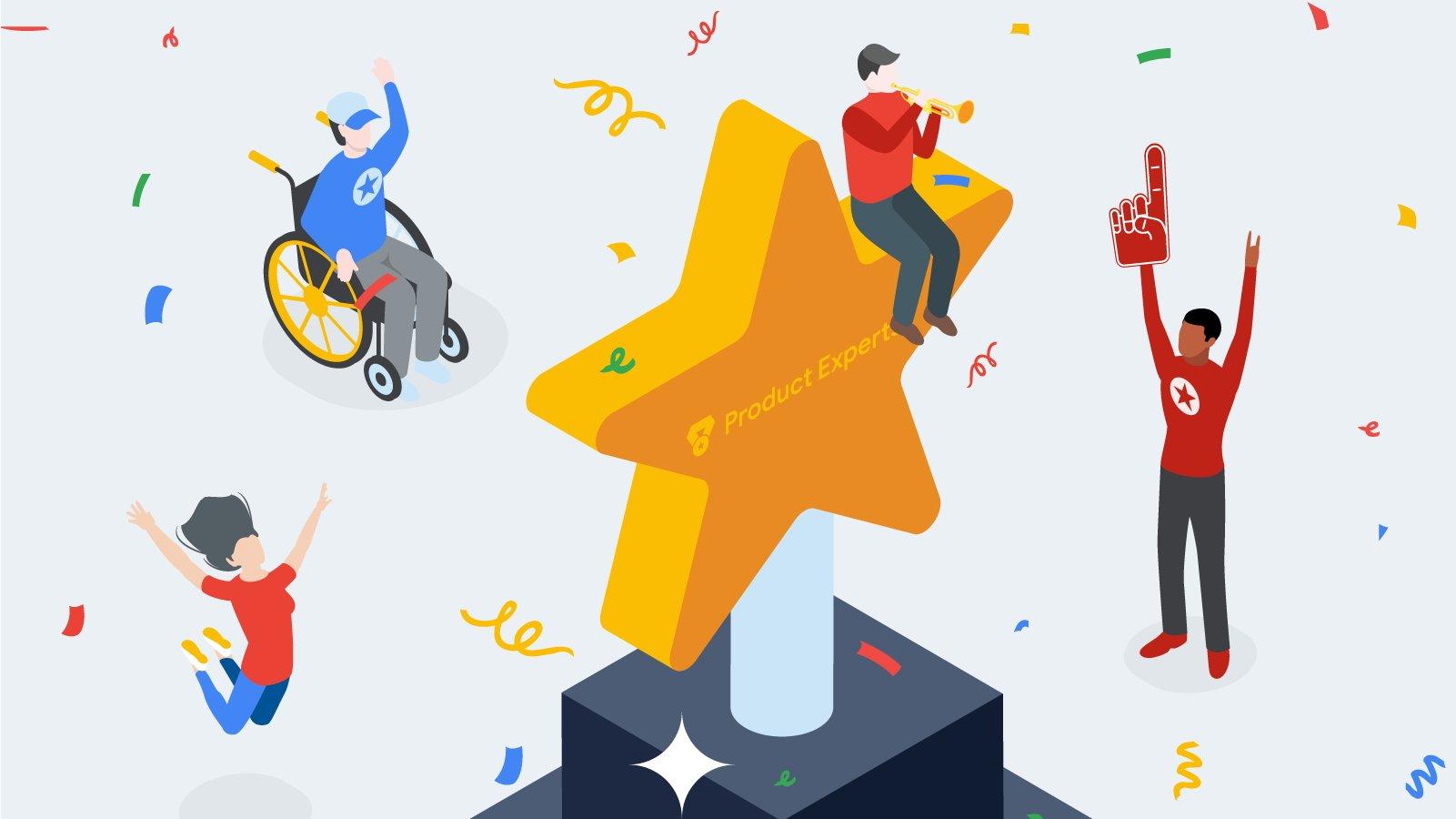 التّرقيات والميزات التي يحصل عليها خبراء منتجات Google