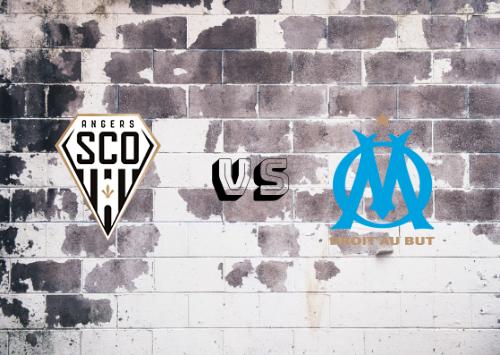 Angers vs Olympique de Marsella  Resumen