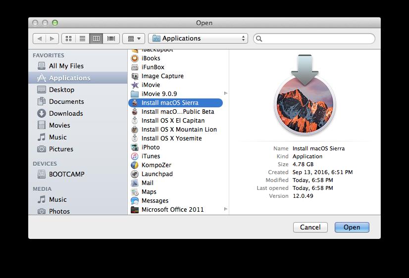 Installa macOS Sierra anche sui vecchi Mac non ufficialmente compatibili 2 HTNovo