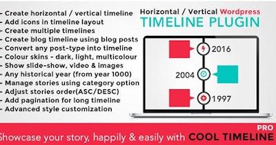 Cool Timeline Pro V2.3 Wordpress Timeline Plugin