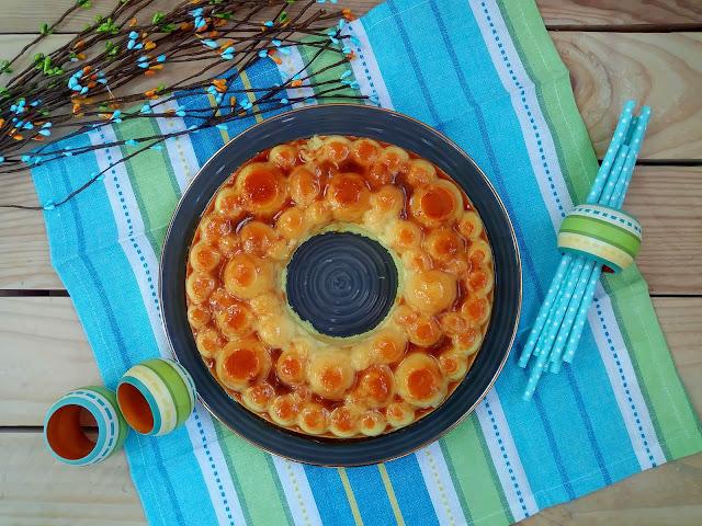 Receta de tarta de piña ligera y fácil sin horno. Postre, verano, light, saludable, fit, healthy, rápido, sencillo, Cuca