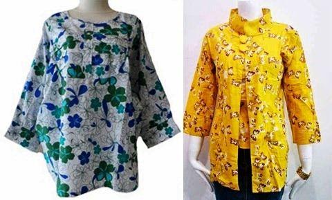 Model Baju Batik Wanita Gemuk Untuk Kerja Terbaru