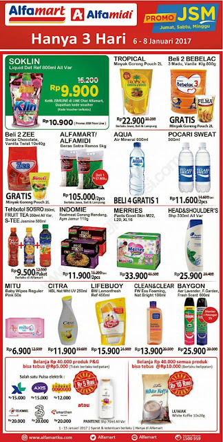 ALFAMART JSM Promo Weekend 06-08 Januari 2017