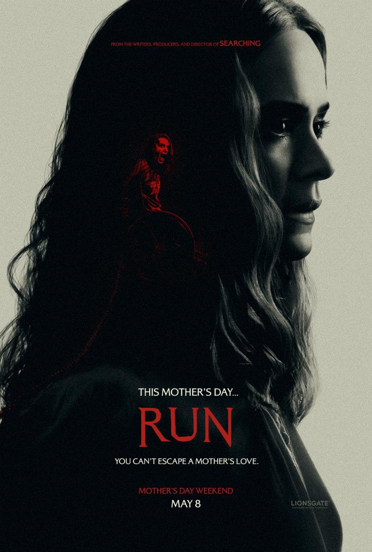 run sarah paulson poster
