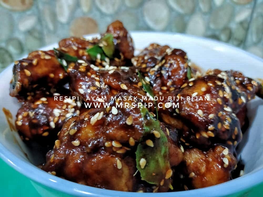 Resipi ayam masak madu sedap ala-ala Korean Ganjang Chicken