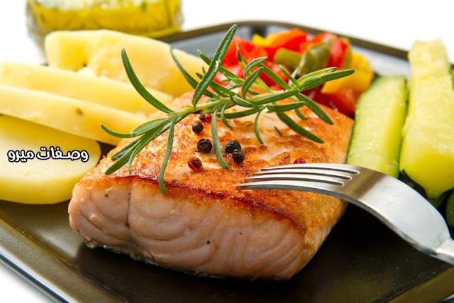 الفوائد الصحية لسمك السلمون