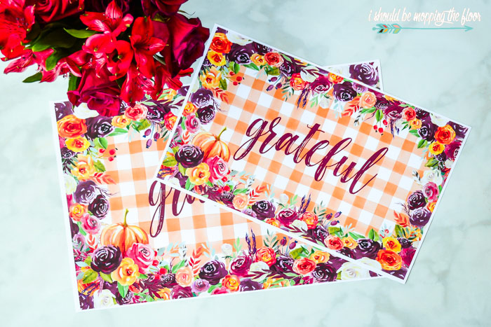 Placemat Printables