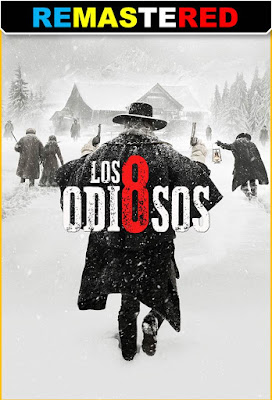 The Hateful Eight 2015 DVD R1 NTSC Latino REMASTERED
