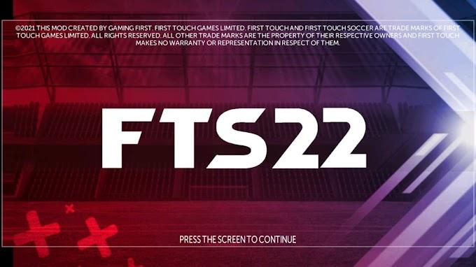 FTS 21 ATUALIZADO COM LIBERTADORES MODO CARREIRA