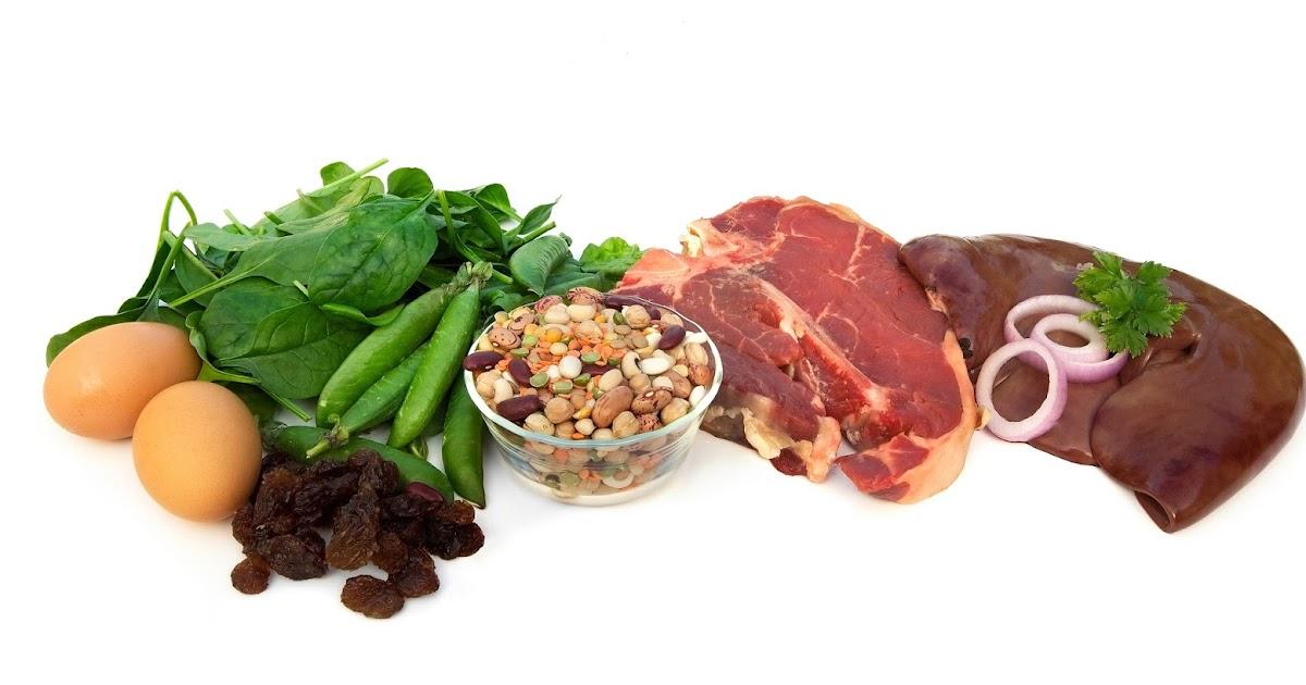 диета при анемии железа