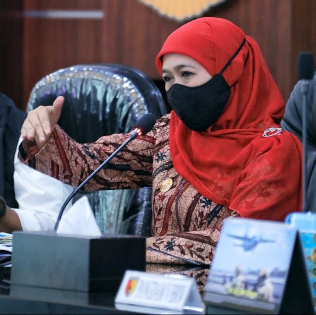 Khofifah Indar Parawansa Beri 3 Pesan Terkait Masa Pengenalan Lingkungan Sekolah (MPLS).lelemuku.com.jpg